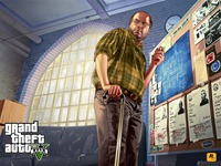 Арт Grand Theft Auto 5: Лестер