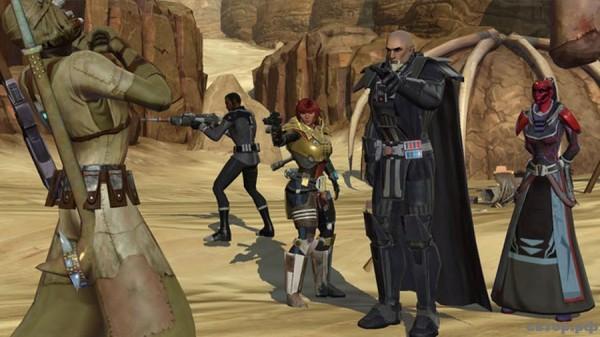 Чем завлекает Star Wars: The Old Republic