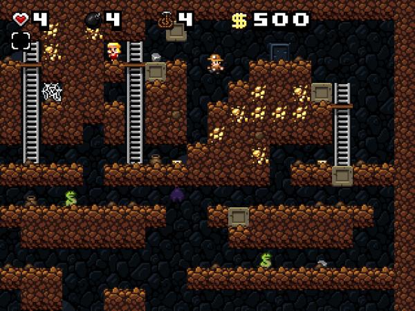 Что преподнесет очередной уровень в игре Spelunky