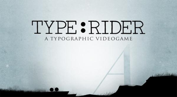 Сама интересная игра на планшеты Type: Rider