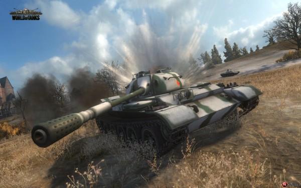 World of Tanks всё также популярна