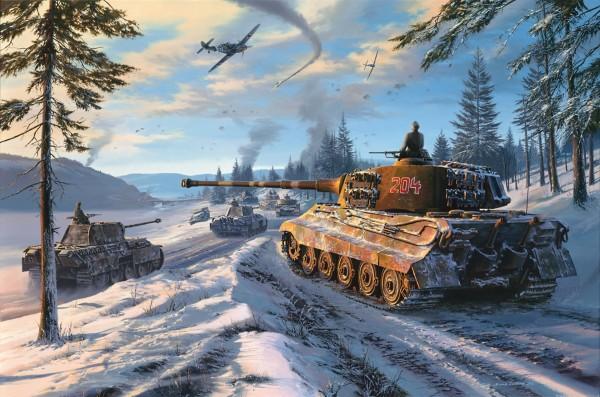 В  War Thunder можно танком бить по самолету
