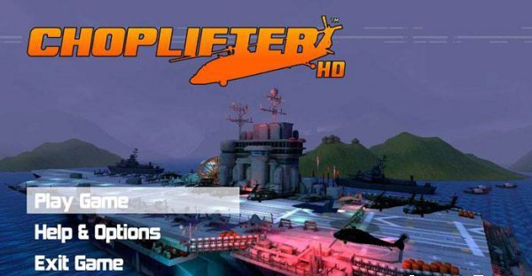 Choplifter – новенький симулятор вертолета?