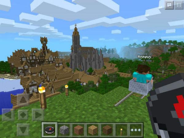Что являет собой Minecraft Pocket Edition 0.8.0