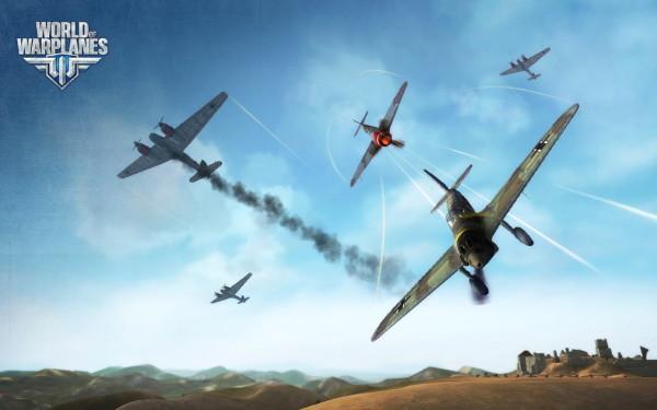 World of Warplanes  выбирает спорт