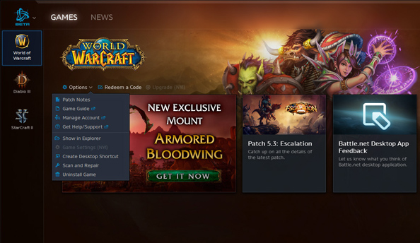 Blizzard  о Steam программах