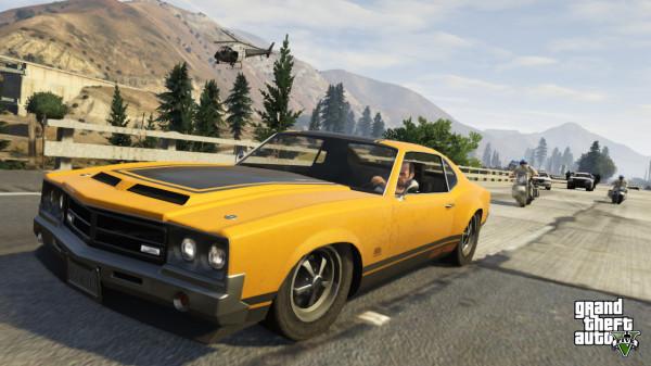 GTA 5 признана лучшей игрой года