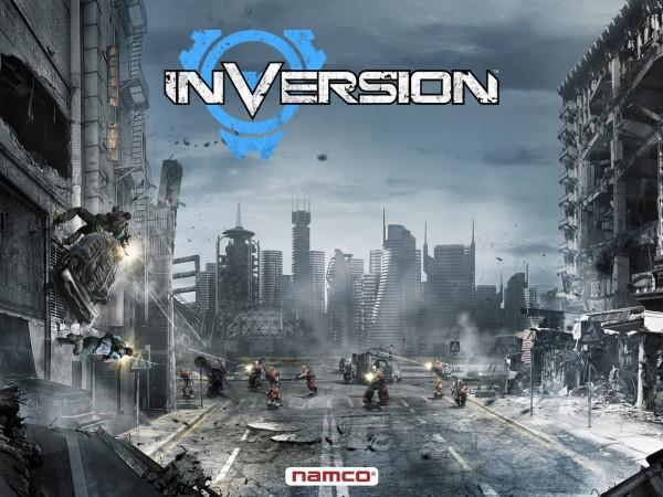 Inversion и очевидное сходство с Gears of War?