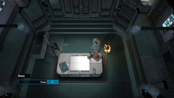 Warp напоминает Metal Gear Solid?