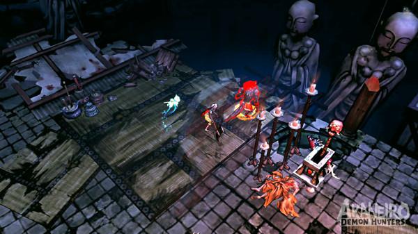 Akaneiro: Demon Hunters  пора бы показаться на свет