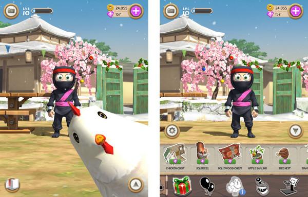 Clumsy Ninja — новый тамагочи в смартфоне