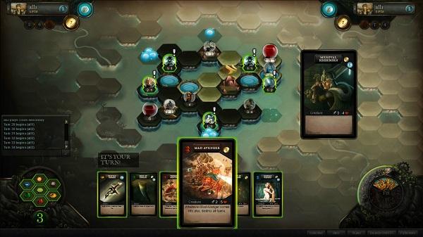 Очередная смесь тактической и карточной игры – Faeria?