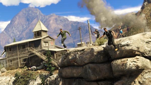 GTA Online режим захват