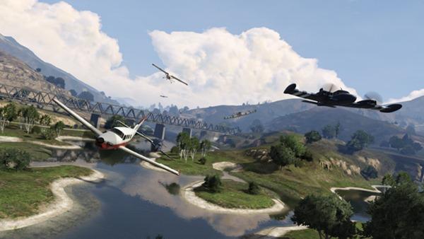 GTA Online, гонки на воде, суше и в воздухе