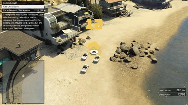 GTA Online редактор, контрольные точки