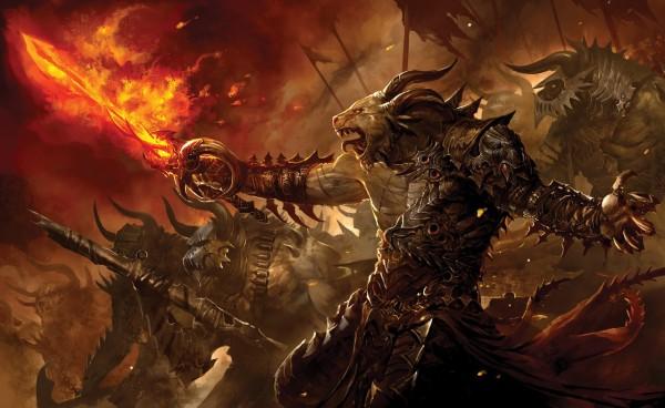 Вариант прокачки в игре Guild of Wars