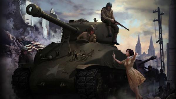 Новый рекорд в игре Война Танков