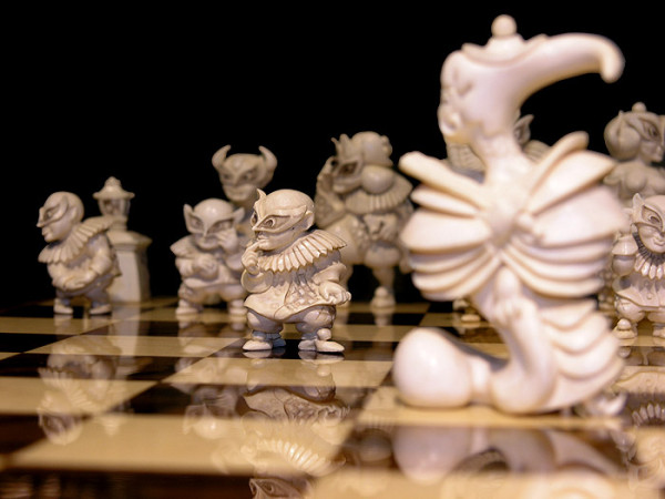 Очередная попытка комбинации шахмат и видеоигры