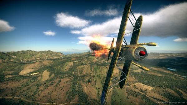 Новый авиасимулятор – War Thunder