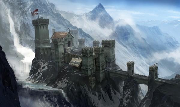 Концепт-арт Dragon Age: Inquilsition