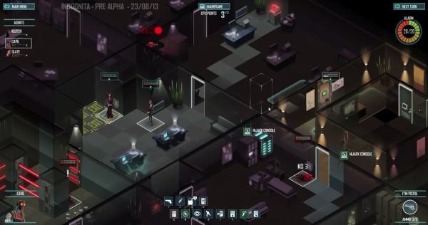 Игра Incognita была переименована в Invisible, Inc на стадии альфа-теста