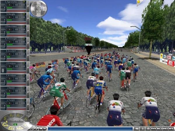 Новый симулятор велогонок от Cyanide