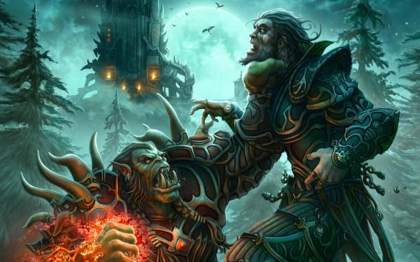 Атака вирусом игроков World of Warcraft