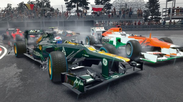 Туториал режим в F1 2012