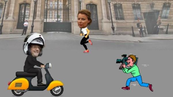 Вышла в свет  компьютерная игра про президента Франции