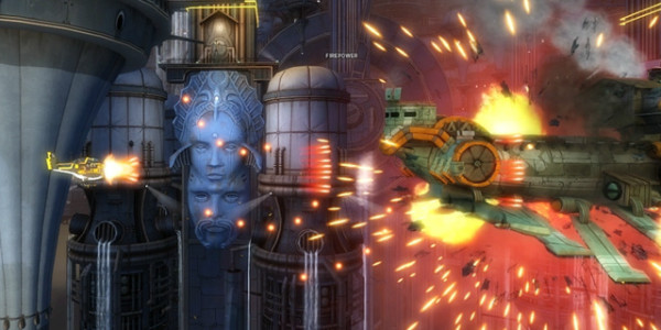 Sina Mora очередная игра в формате Bullet Hell Shooter