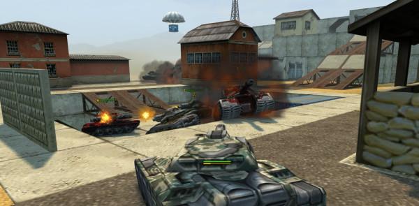 В танках онлайн все реалистично как в настоящем бою