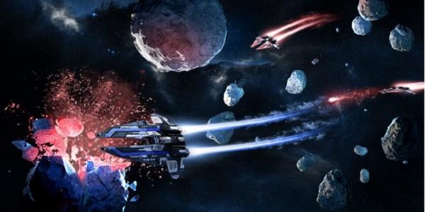 Скоро еще одна украинская игра появится на Kickstarter — Universe Rush космическая стратегия