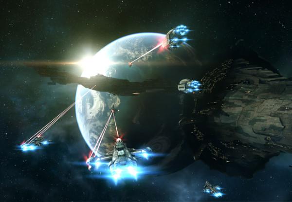 Крупнейшее сражение в космическом симуляторе Eve Online