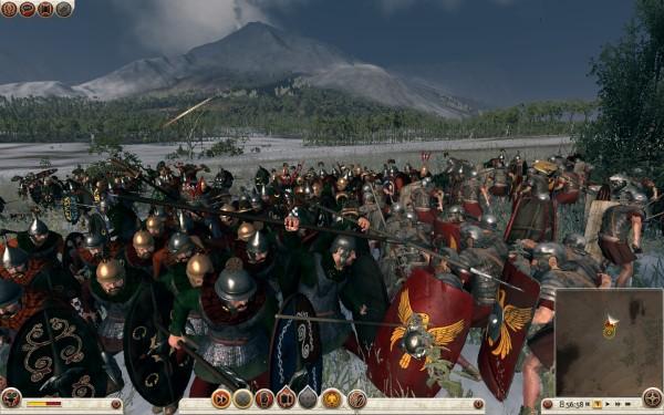 Rome 2 — Total War: Войска уде на пороге Галлии