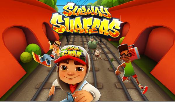 В игре Subway Surfers все просто и легко