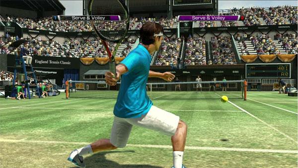 Что внутри Virtual Tennis 4?