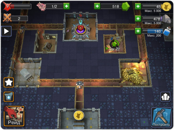 Встречайте переделанную игру Dungeon Keeper на новый лад