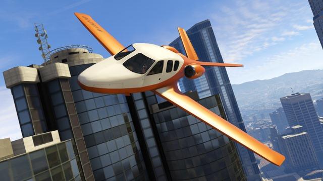 GTA Online DLC Бизнес - Самолет Vestra