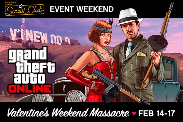 Мероприятие для GTA Online ко Дню Святого Валентина