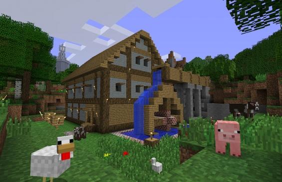 Самая популярная игра-песочница Minecraft