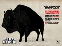 Животные RGR - American Buffalo