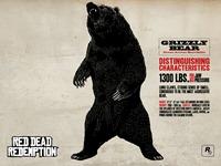 Животные RGR - Gryzzly Bear