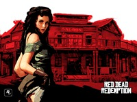 Обои RDR - Scarlet Lady