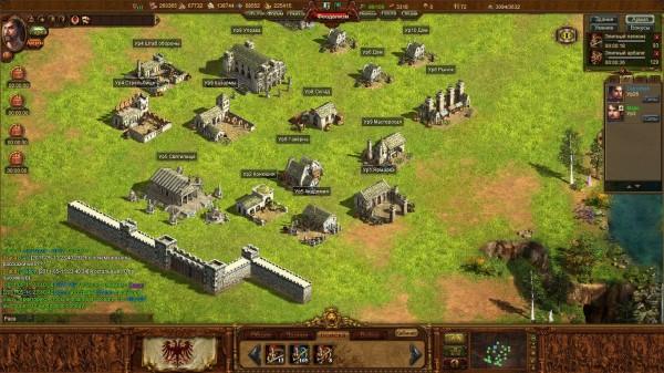 Онлайн игра «Империя» самая популярная среди любителей стратегии