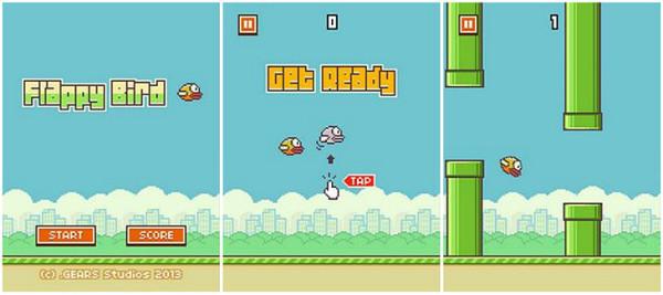Самая ужасная игра Flappy Bird из прошлого