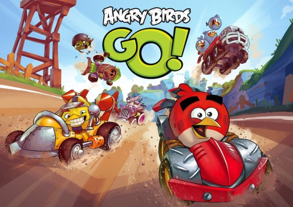 Самая веселая игра Angry Birds Go!