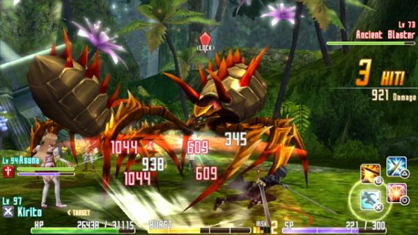 Интересное о Sword Art Online: Hollow Fragment