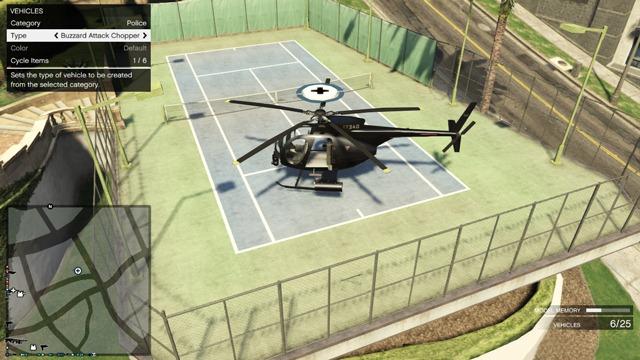 Редакторы GTA Online: Установка вертолета