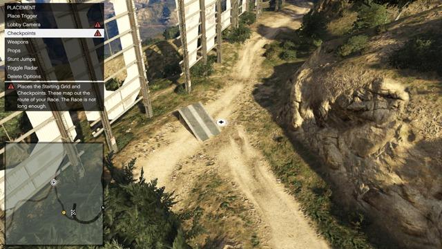 Редактор GTA Online: Хороший прыжок с трамплина