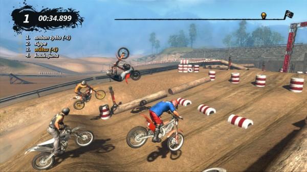 Новая аркада про мотоциклистов Trials Evolution